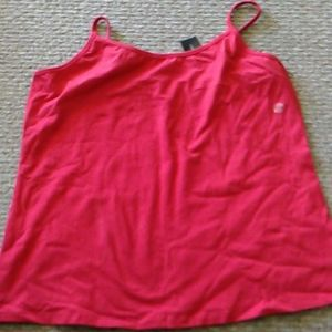 Lane Bryant Red Stretch Camisole Tank Top